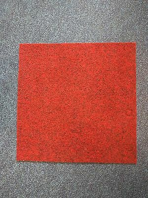 Red Carpet Tiles - Used in good condition
