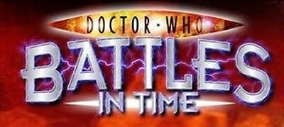 Dr Who Battles In Time Rare Cards