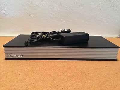 Tandberg TTC7-14 MXP Video Conferencing Unit With AC Adapter