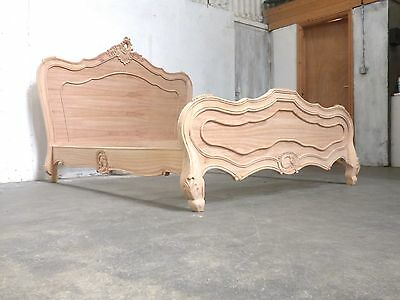 French Style Kingsize Paris Bed Raw Unfinished