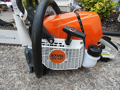 STIHL GS461 Concrete/Chainsaw with 16 Inch Bar and Chain