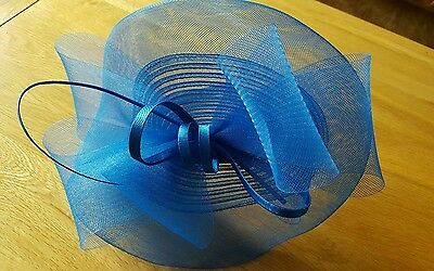Beautiful Blue Fascinator
