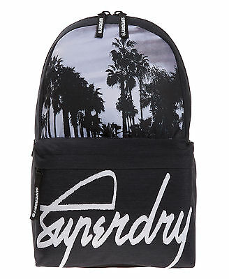 New Mens Superdry Palm Kayem Montana Rucksack Mono Palm