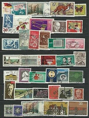 #5915 GERMANY DDR Lot Used Stamps