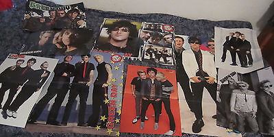 HUGE LOTof GREEN DAY posters