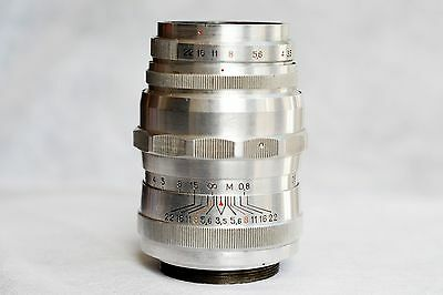 "Industar 24M f/3.5/105 red ""P"" M42 mount, Very Rare (UK Sale)"