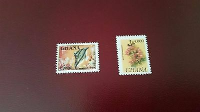 Ghana 1995 Sg 2161A- 2161B  Fish & Flower Mnh Cat £15