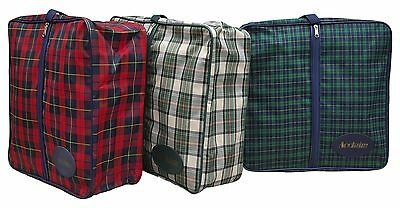 "ACCLAIM Tiree Tartan Check Pattern Rink Greensider Clothing Bowling Bag 15"" x 5"""
