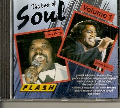 CD The best of Soul  volume 1  TBE