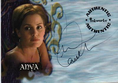 Rare Inkworks Buffy The Vampire Slayer A16 Anya Emma Caulfield Autograph Card