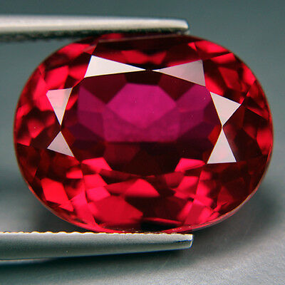 5.95ct.AWESOME  PIGEON BLOOD RED RUBY LOOSE GEMSTONE