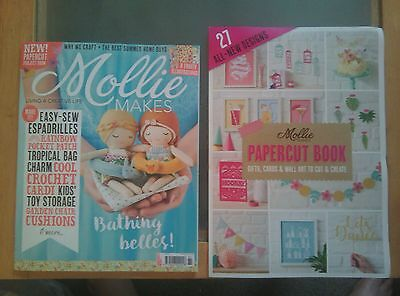 Mollie Makes craft Magazine Issue 81 July 2017 + FREE gift NEW Sew crochet MORE