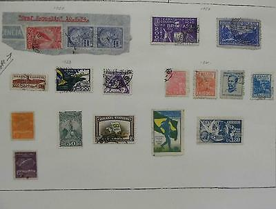 Brazil Stamps 1929-1941 Hinged,