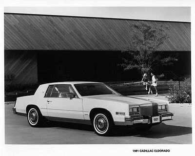 1981 Cadillac Eldorado Factory Photo ae4280