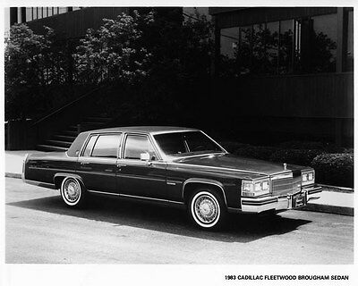 1983 Cadillac Fleetwood Brougham Sedan Factory Photo ae4290