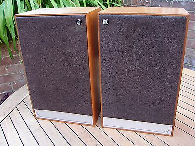 Mordaunt Short Pageant 2 Hi-Fi Audiophile Speakers Matched Pair British 1970s