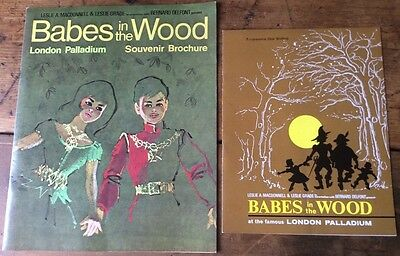 Babes in the Wood ' Programme London Palladium - Frank Ifield, Sid James  1965