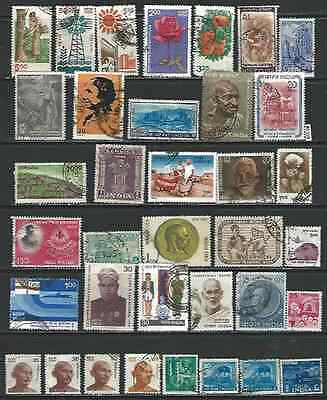 #6109 INDIA Interesting Lot Used Stamps