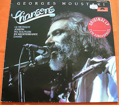 George Moustaki - Chansons - LP