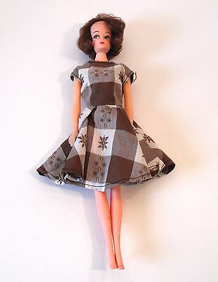 Vintage Davtex Clone Barbie Sized Fashion Doll with Bubble Cut