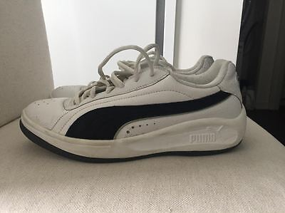 Vintage White Puma California Men's Shoes Size 9.5 US
