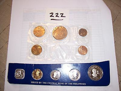 PHILIPPINES UNCIRCULATED COIN SETS; 2 Sets; 1958 (RARE) and 1975
