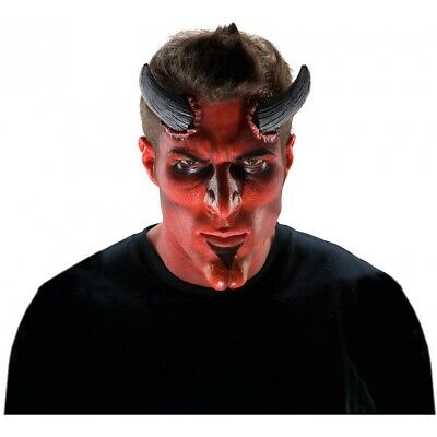 Large Devil Horns Prosthetic Appliance Costume Make Up FX Special Effects