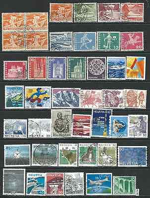 #6180 SWITZERLAND Lot of Used Stamps