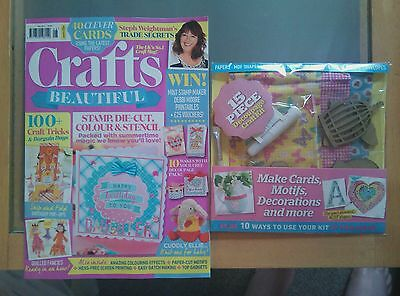 Crafts Beautiful Craft magazine Issue 308 August 2017 *NEW* FREE Gift Découpage