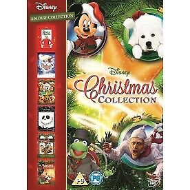 Disney Christmas Collection Box Set 6 Films DVD - Brand New!