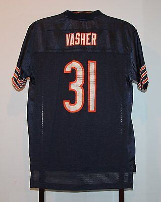 Maillot Trikot Jersey Foot Américain Nfl Us Nathan Vasher Chicago Bears M