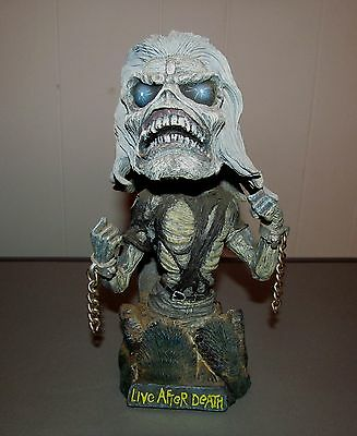 """Neca 2002 Bobblehead Iron Maiden """"live After Death"""""""