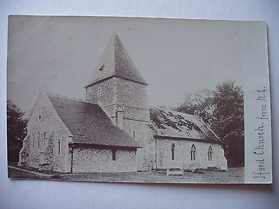 Iford Church  from N.E. - vintage real photograph