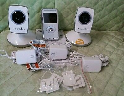 Summer Infant - 28630 Baby Zoom Video Monitor & 2 Camera [NO WIFI]