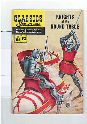 Classics Illustrated #108 (NO RESERVE)  Knights of the Round Table