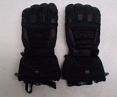 Outdoor Research Capstone Heated Gloves - L /31290/