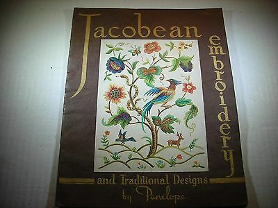 Jacobean Embroidery and Traditional Designs by Penelope