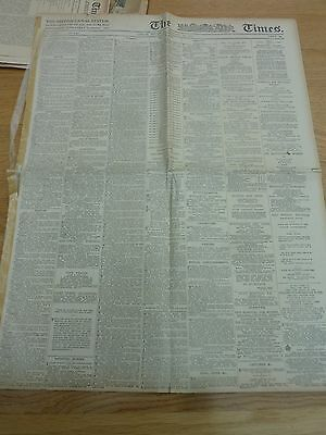 Ww1 1917 Feb 22 The Times Newspaper Original Fighting Ypres 16 Page