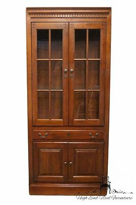 HOOKER FURNITURE 34″ Glass-Front Bookcase Wall Unit 866-70-0146