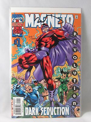 Marvel Dynamic Forces Magneto Dark Seduction 1 Comic Book Signed Tim Townsend
