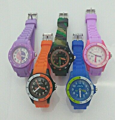 Reflex Learn Time Teacher Easy Fasten Childrens Watch Kids Gift Girls Boys