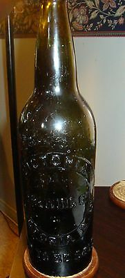 Early Victoria Brewing Co. beer bottle
