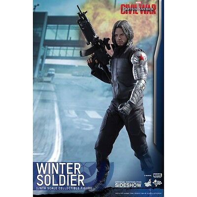 Winter Soldier (Captain America: Civil War) Hot Toys 1:6 Scale Figure - Brand...