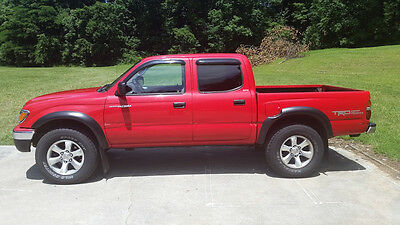 2001 Toyota Tacoma TRD 2001 4DR 4WD 3.4L V6 TRD Auto with Power Sun Roof