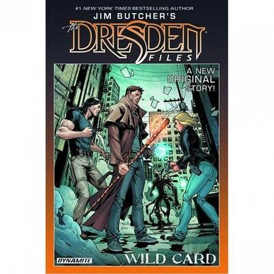Jim Butcher's Dresden Files: Wild Card - Brand New!