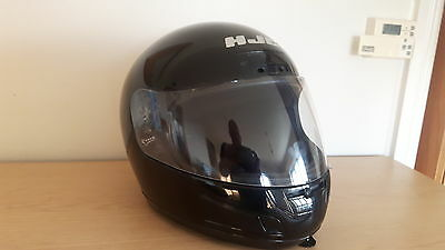 Hjc Motorcycle Full Face Helmet Gloss Black Size L