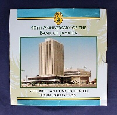 2000 Jamaica 7 coin Uncirculated set in folder   (A10/58)