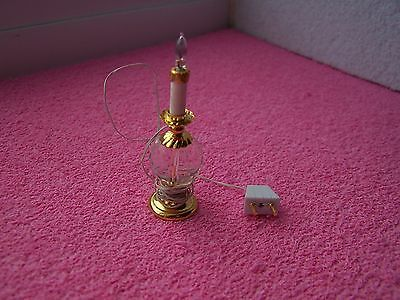 Doll House, Table Lamp, Candle Design, Crystal, Working, Plug, New