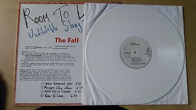 "The Fall - Room To Live WHITE VINYL 12"" Album - Line Records - VG. RARE!!"