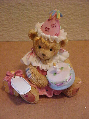 Cherished Teddies May All Your Birthday Wishes Come True Girl Cake New 864390
